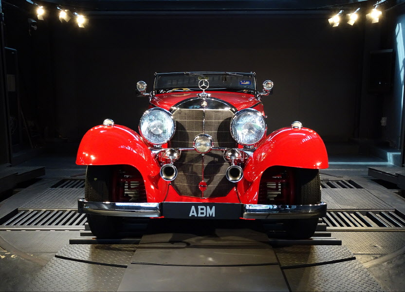 1936 MERCEDES 500K ROADSTER