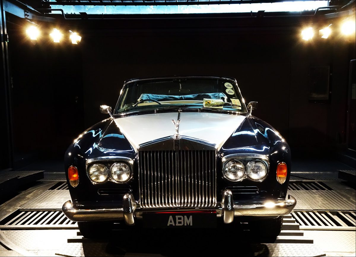 1973 Rolls Royce Corniche 6.8